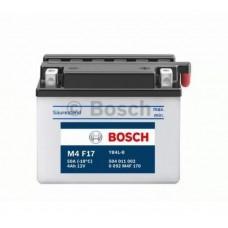 Аккумулятор BOSCH 0092M4F170 для мотоцикла евро 4Ah 20A