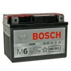 Аккумулятор BOSCH 0092M60010 для мотоцикла евро 3Ah 30A
