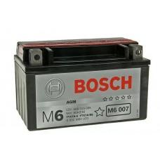 Аккумулятор BOSCH 0092M60070 для мотоцикла рус 6Ah 50A