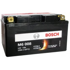 Аккумулятор BOSCH 0092M60080 для мотоцикла рус 7Ah 120A