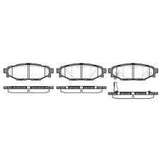 Колодки тормозные дисковые задние Subaru Forester III IV 2010-2019