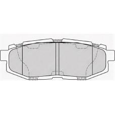 Колодки тормозные дисковые задние Subaru Tribeca 2004-2014