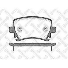 колодки тормозные дисковые задние Ауди ТТ А6 А4 A3 Фольксваген Гольф 200 Джетта Шкода Октавия