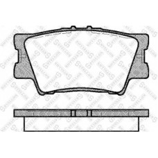 колодки тормозные дисковые зад TOYOTA CAMRY 2006- 2.4-3.0 TOYOTA RAV4 2006- 2.0-2.2D