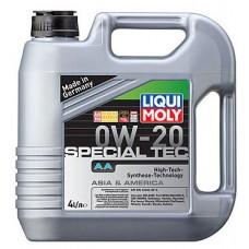 Масло моторное LIQUI MOLY  0W20 Special Tec AA 4 литра