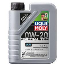 Масло моторное LIQUI MOLY 0W20 Special Tec AA 1 литр
