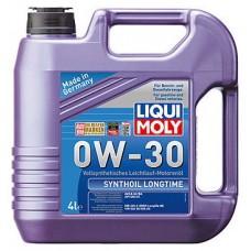 Масло моторное LIQUI MOLY 0W30 Synthoil Longtime 4 литра