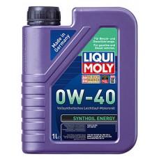 Масло моторное LIQUI MOLY 0W40 Synthoil Energy 1 литр