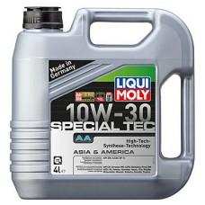 Масло моторное LIQUI MOLY 10W30 Special Tec AA (Leichtlauf Special AA) 4 литра