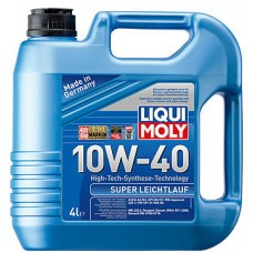 Масло моторное LIQUI MOLY 10W40 Super Leichtlauf 4 литра