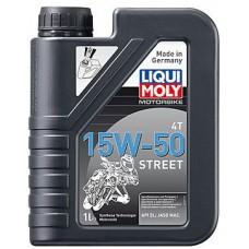 Масло моторное LIQUI MOLY 15W50 Motorbike 4T Street 1 литр