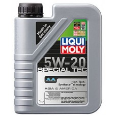 Масло моторное LIQUI MOLY 5W20 Special Tec AA (Leichtlauf Special AA) 1 литр