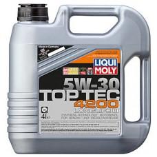 Масло моторное LIQUI MOLY 5W30 Top Tec 4200 4 литра