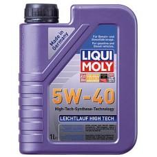 Масло моторное LIQUI MOLY 5W40 Leichtlauf High Tech 1 литр