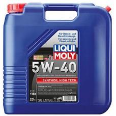 Масло моторное LIQUI MOLY 5W40 Synthoil High Tech 20 литров