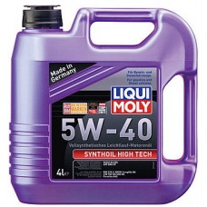 Масло моторное LIQUI MOLY 5W40 Synthoil High Tech 4 литра