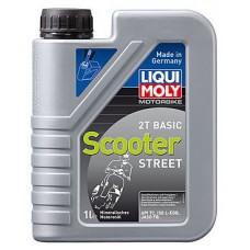 Масло моторное LIQUI MOLY Motorbike 2T Basic Scooter Street 1 литр