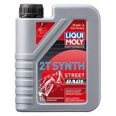Масло моторное LIQUI MOLY Motorrad Synth Street Race 2T 1 литр