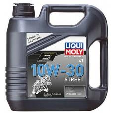 Масло моторное LiquiMoly 10W30 Motorbike 4T Street (4L)