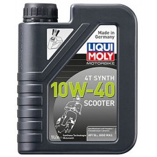 Масло моторное LiquiMoly 10W40 Scooter Motoroil Synth 4T (1L)
