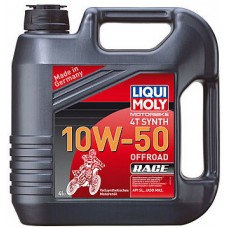 Масло моторное LiquiMoly 10W50 Motorbike 4T Synth Offroad Race (4L)