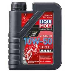 Масло моторное LiquiMoly 10W50 Racing Synth 4T (1L)