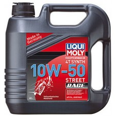 Масло моторное LiquiMoly 10W50 Racing Synth 4T (4L)