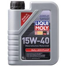 Масло моторное LiquiMoly 15W40 MoS2Leichtlauf (1L)