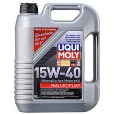 Масло моторное LiquiMoly 15W40 MoS2Leichtlauf (5L)