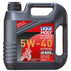 Масло моторное LiquiMoly 5W40 Motorbike 4T Synth Offroad Race (4L)