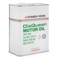 Масло моторное MITSUBISHI 5W30 DiaQueen Motor Oil 4 литра