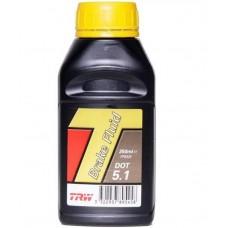 Жидкость тормозная 0,25 литра DOT 5,1 TRW PFB525