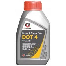 Жидкость тормозная 0,5 литра DOT 4 COMMA BF4500M