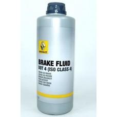 Жидкость тормозная 0,5 литра DOT 4 RENAULT 7711575504