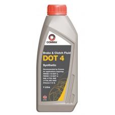 Жидкость тормозная 1 литр DOT 4 COMMA BF41L