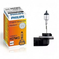 лампа галогенная H27W/2 PHILIPS 12060C1
