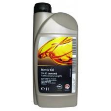 GM 5W30 (1L) dexos2_ масло моторное!\ API SM/CF, ACEA A3/B4/C3, MB229.51, VW 505(2).00/01, BMWLL-04